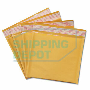 2000 cd 7 25x8 Kraft Bubble Mailers Self Seal Envelopes 7 25 x8 Secure Seal