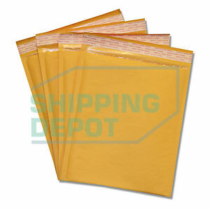 200 2 8 5x12 Kraft Bubble Mailers Self Seal Envelopes 8 5 x12 Secure Seal