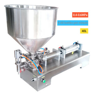 100 1000ml Automatic Filling Machine For Cream honey sauce cosmetic tooth Past