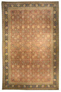 Large Antique Persian Tabriz Rug Bb3327