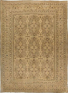 Large Antique Persian Khorassan Rug Bb3194