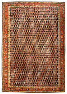 Large Antique Northwest Persian Rug Bb4152