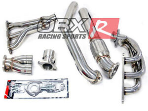 Obx Stainless Header For 1997 To 2003 Pontiac Grand Prix Gtp 3 8l Super Charged