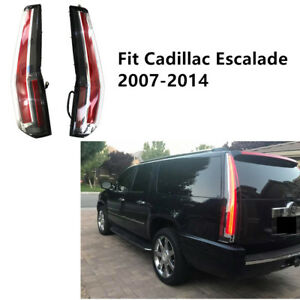Led Tail Lights For 2007 2014 Cadillac Escalade Esv 2016 Model Assembly