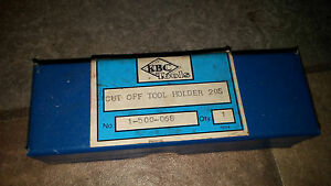 Cut Off Tool Holder Kbc Tools
