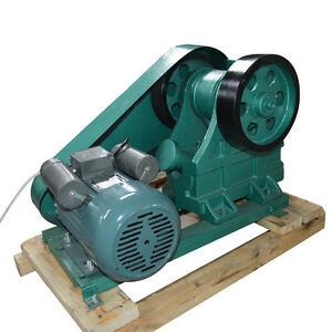 220v 100x60 Mini Jaw Crusher For Rock Ore Slag Steel Slag Coal Stone Crushing