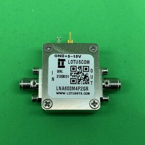 Broadband Ultra Low Noise Amplifier With Ldo 0 6db Nf 600m 4 2ghz 19db Flat Gain