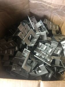 250 Each Una Clad Uc 14 Clip Standing Seam Concealed Metal Roof Clip Made Of Sta