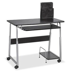 Mobile Computer Desk Rectangle Top 41 50 Table Top Width X 20 50 Table