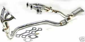 Obx Exhaust Header For 2004 To 2007 Pontiac Chevrolet Buick Saturn 3 5l V6 Lx9