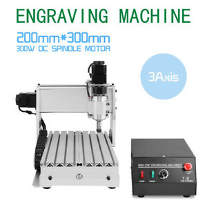 3 Axis Engraver Usb Cnc3020t Router Engraving Drilling Milling Machine 3d Cutter