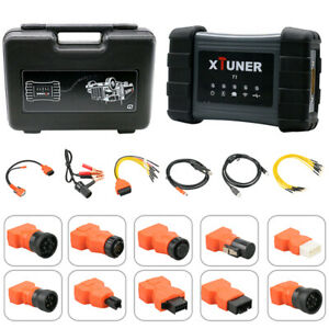 Xtuner T1 Hd Heavy Duty Diesel Trucks Special Function Obdii Diagnostic Scanner
