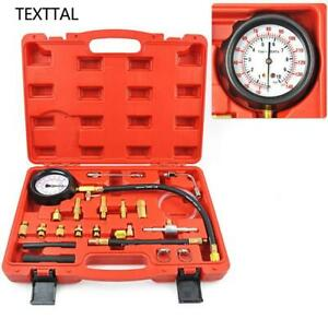 Texttal Universal Fuel Pressure Tester Kit For All Fuel Injection Systems