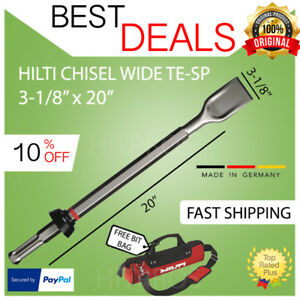 Hilti Chisel Wide Te Sp 3 1 8 X 20 New For Te 905 1000 1500 Fast Ship