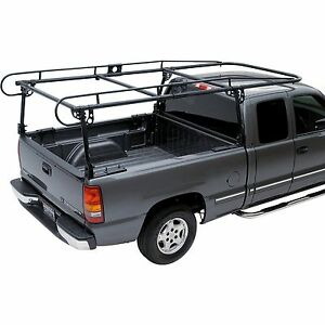 Adjustable Full Size Truck Contractor Ladder Pickup Lumber Utility Kayak Rack