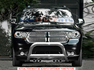 11 2015 Dodge Durango Stainless Lbull Bar Grill Guard Front Bumper Protector