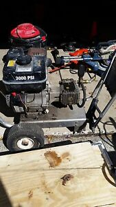 Pressure Washer 3000psi W 9 0hp Gas Motor