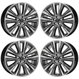 20 Lincoln Mkx Wheels Rims Factory Oem 2016 2017 2018 Set 4 10074