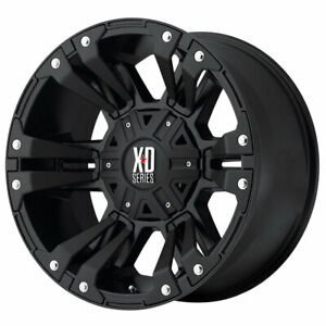 Xd Series Xd822 Monster Ii 18x9 6x135 6x139 7 Et18 Blk Blk Accents Qty Of 4
