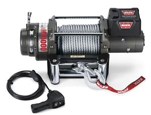 47801 Warn M15000 15 000 Lbs Heavyweight Series Self Recovery Electric Winch 123