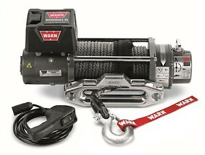 87800 Warn M8000 S 8 000 Lbs Premium Series Electric Self Recovery Winch