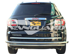 Vanguard 15 17 Tahoe escalade suburban Rear Bumper Protector Guard Double Layer