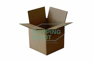 1 200 5x5x5 Corrugated Cardboard Mailing Shipping Packing Cube Carton Boxes