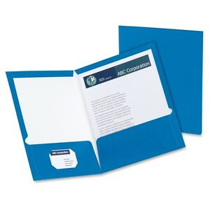 Oxford Laminated Twin Pocket Folders Letter 8 1 2 X 11 Sheet Size 2