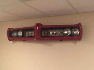 1968 1969 Pontiac Gto Vintage Wall Art Display D cor Man Cave Bar Restaurant