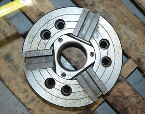 10 Howa 3 jaw Hydraulic Chuck 2 9 Thru Hole