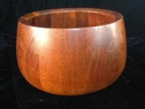 Vtg 60s Mcm 9 Pieces Dansk Teak Wood Denmark Salad Bowl Set Jens Quistgaard