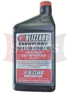 Qt Of Plow Oil Blizzard 63070 Fisher Western Snowex Snowplow Pump Fluid