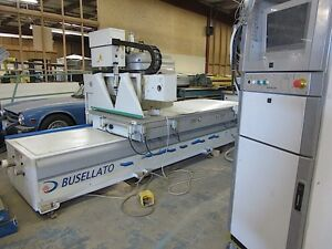 2005 Busellato Jet 200rt 4x10 Cnc Router