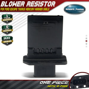 A C Blower Heater Motor Resistor For Ford Escape 2008 2009 2010 2011 2012 Ru 588
