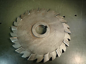 National 31 32 X 8 3 8 Horizontal Milling Cutter Staggered Tooth Side Mill