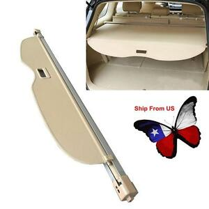 2011 2016 Jeep Grand Cherokee Beige Cargo Area Security Shade Cover