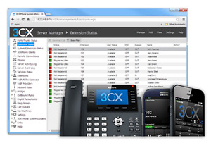 3cx Voip Cloud Hosted Pbx Phone System Server Includes 3 Sip Trunks line