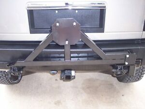 Hummer H2 Tire Carrier With Drop Down Option New