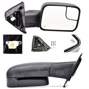 For 02 08 Dodge Ram 1500 03 09 Ram 2500 3500 Power Heated Towing Mirrors Pair