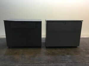 Ulrich And Art Metal Plan Filing Cabinets 2 On Casters