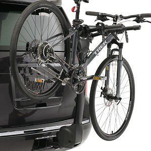 Hitch Mounted 4 Bicycle Carrier By Thule For 2007 2017 Escalade