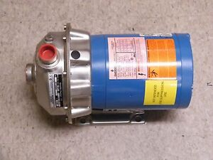 1st1d2d4 Goulds Pumps Npe Centrifugal Pump W 3 4 Hp Us Motor New Old Stock