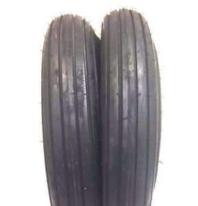 Two 5 90x15 5 90 15 Rib Implement Farm Tractor Tires Disc Do all 590 15