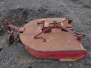 60 Brush Hog Mower Nice Tractor John Deere Ford Bush Cutter