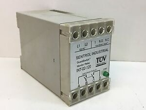 Sentrol Industrial Int 02 120 Guardswitch Monitor Relay