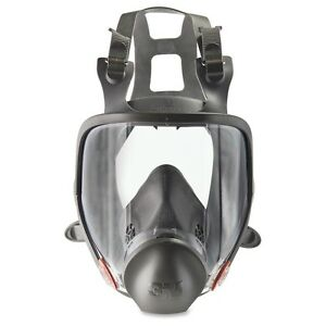 3m 6800 Full Facepiece Respirator Medium Size Gases Vapor Particulate