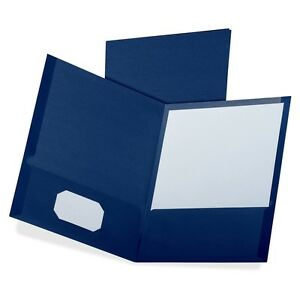 Oxford Linen Twin Pocket Folders Letter 8 1 2 X 11 Sheet Size 100