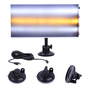 Us Pdr Paintless Dent Repair Tools Led Light Hail Removal Car Body Lamp 3 Strips