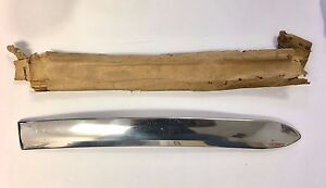 1941 Plymouth Running Board Extension Moulding Rare Nos 937050