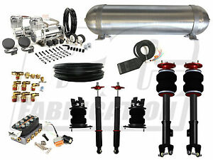 2011 2014 Dodge Charger Complete Air Suspension System Bolt On Accuair Air Lift